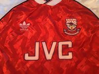 Classic Football Shirts :  1990 Arsenal Vintage Retro Old Soccer Jerseys